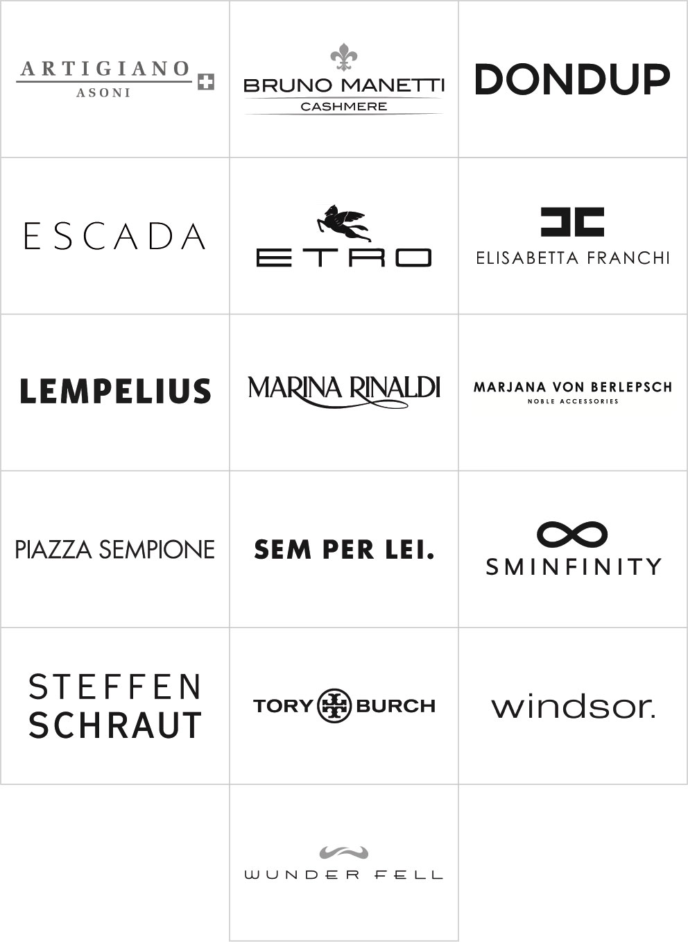 Labels für Frauen bei Daniel Thiel in Wiesbaden